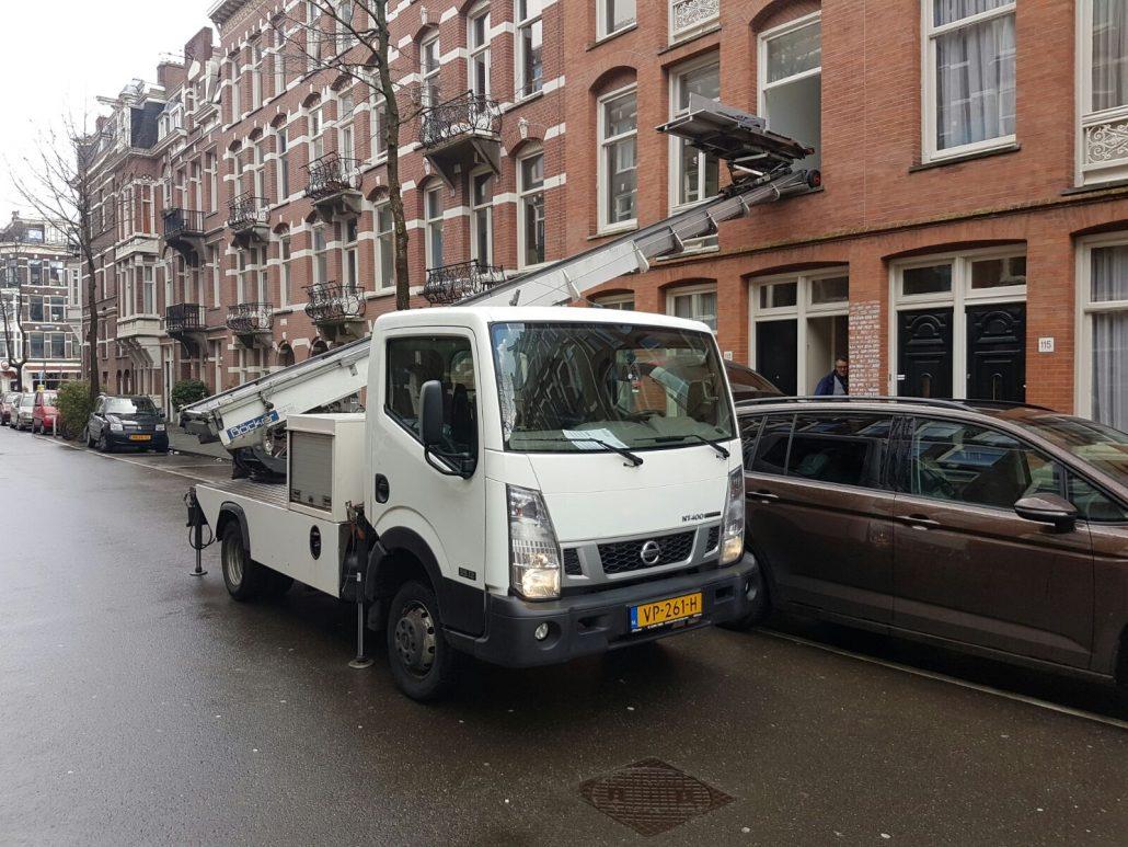 Verhuislift huren Den Haag | Verhuisliftvergelijker.nl